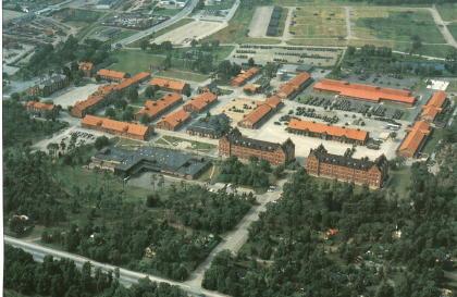 Kasernområdet i Ystad (från söder)
